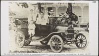 Archie Telpher Ryals Family; Preston, Horace, Henry, Vira, Sue and Archie circa 1917