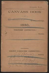 Canvass Book of Eldorado Township, 1890.