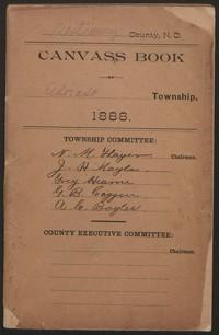 Canvass Book of Eldorado Township, 1888.