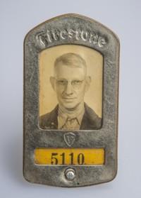 Identification Badge, Robert Passmore