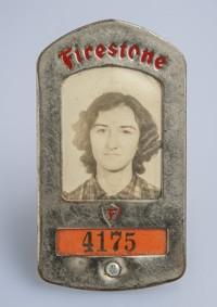 Identification Badge, Mattie Passmore