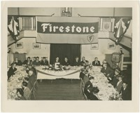 """Firestone Banquet in Honor of Army-Navy """"E"""" production Award"""