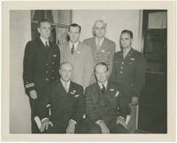 Firestone Officials Posed with Military Officers