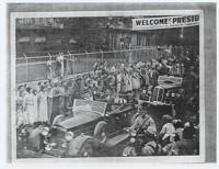 President Roosevelt Visits Loray Mill Community